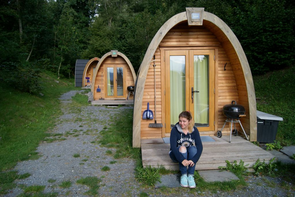 Podhouse, Campingplatz Flims